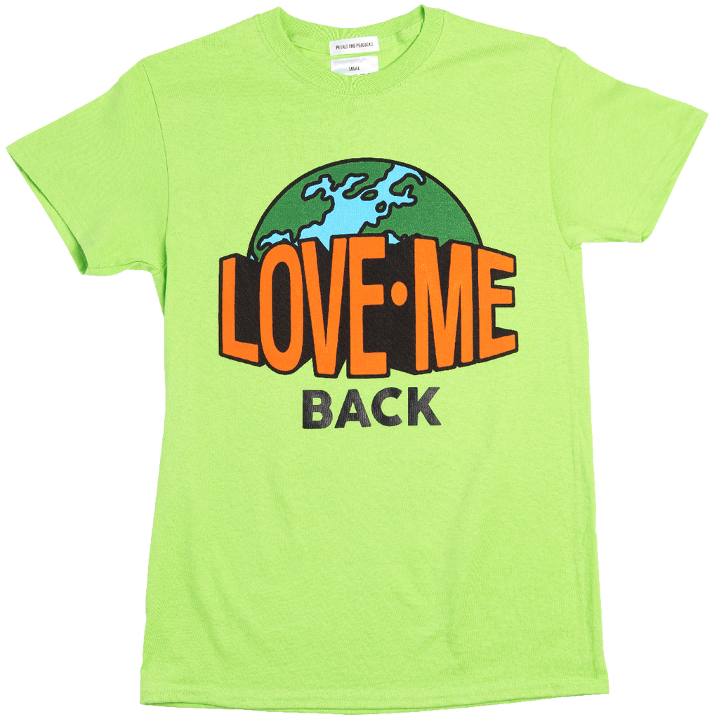 Love Me Back Tee in Lime