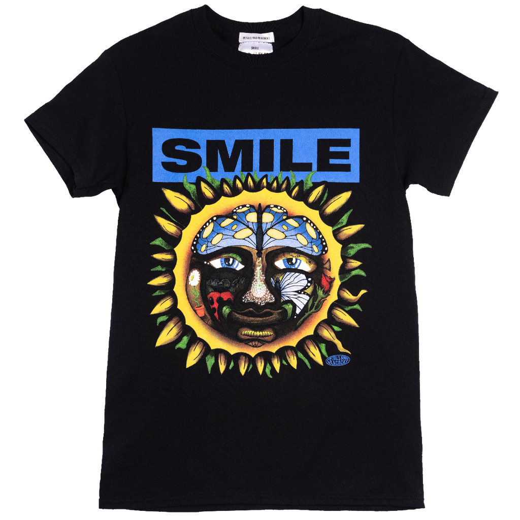 Smile Tee in Black