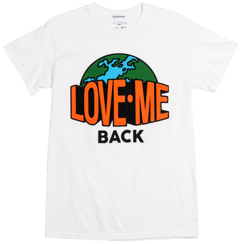 Love Me Back Tee in White
