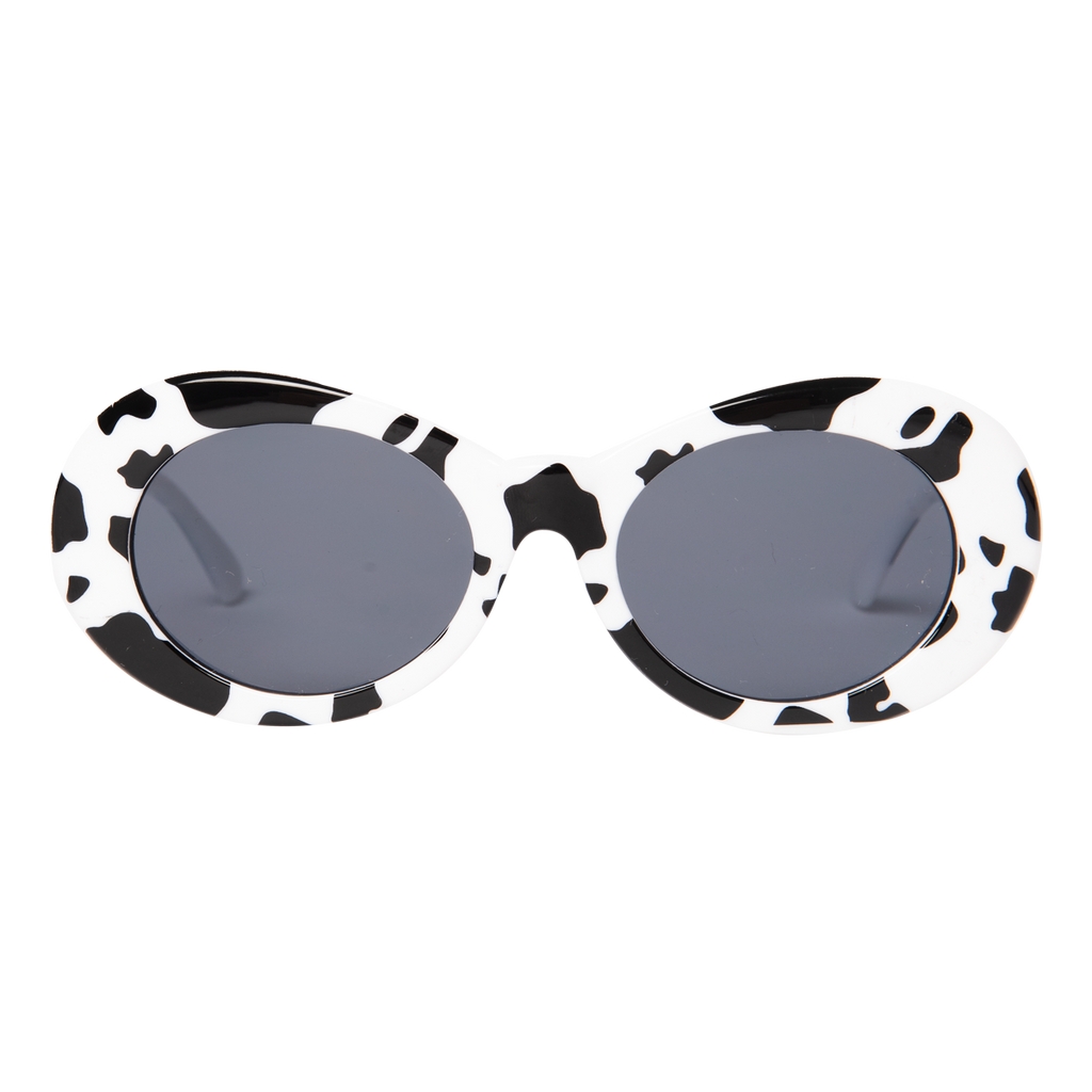 Nevermind Sunglasses in Cow Print