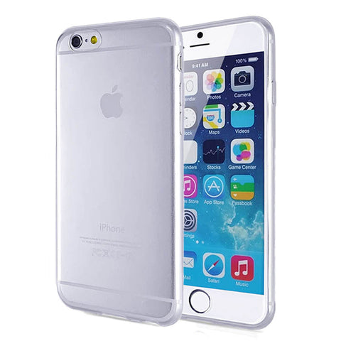 iPhone 6 Plus and iPhone 6s Plus Case Touch Skin (0.3mm Thin, Scratch Resistant, Soft, Clear)