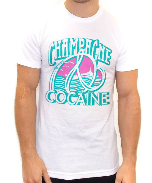 Champagne And Cocaine T Shirt - Team Inmind - 2