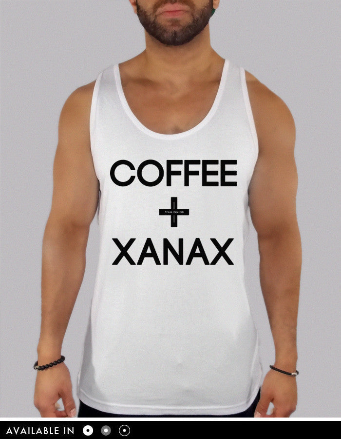 Coffee and Xanax Tank Top