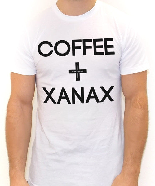 Coffee and Xanax T Shirt - Team Inmind - 2