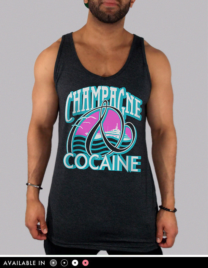 Champagne And Cocaine Tank Top