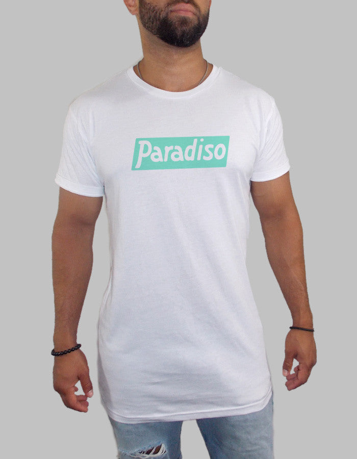 Paradiso Long Body Scooped T Shirt