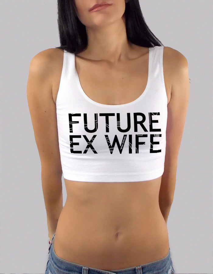Future Ex Wife Sport Crop Top