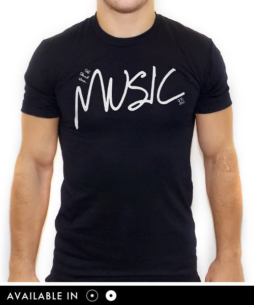 All About The Music T Shirt - Team Inmind - 1