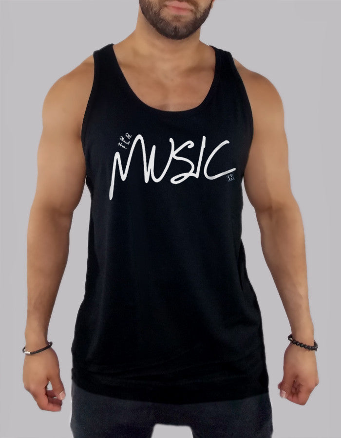 All About The Music Tank Top