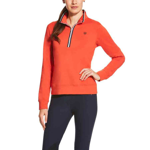 Ariat Womens Ballad Tek Half Zip Fleece - Strike Here.