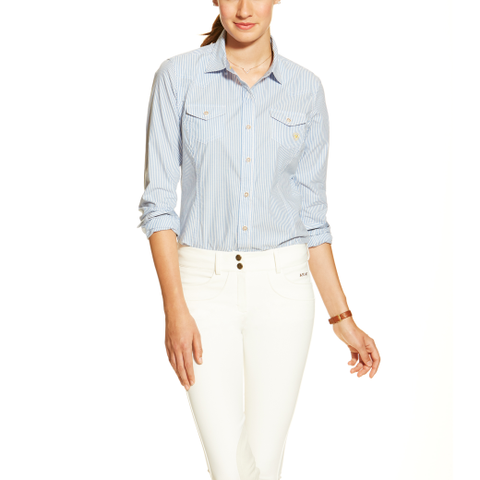 Ariat Keen Ladies Striped Tailored Slim Fit Shirt