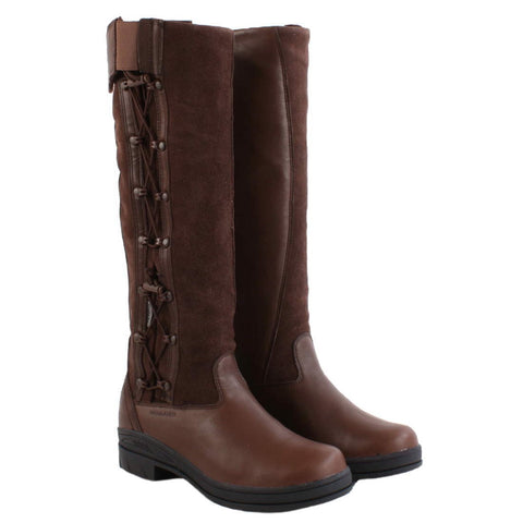 Ariat Grasmere country boots in Chocolate brown