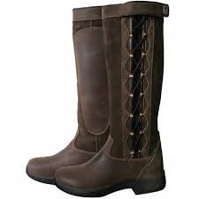Dublin Ladies Waterproof Pinnacle Country Boots with Laces