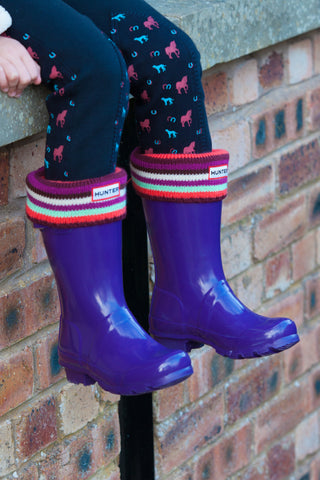 Hunter Kid's Original Gloss Wellington Boots