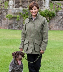 Hoggs of Fife Caledonia Ladies Tweed Shooting Jacket