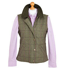Hoggs of Fife Caledonia Ladies Tweed Gilet