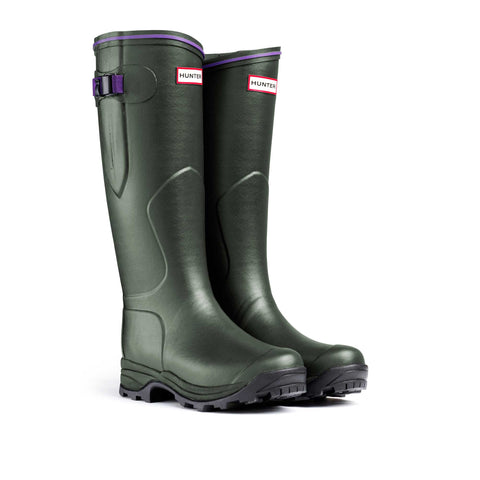 Hunter Balmoral Lady Neoprene Wellington Boots