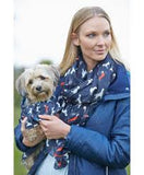 Toggi Tabitha Horse, Snaffle or Dog Print Ladies Scarf