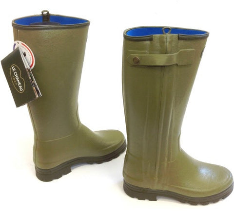 Le Chameau Chasseurnord neoprene lined men's wellington boots
