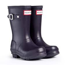 Hunter Kids Original Matt Wellington Boots
