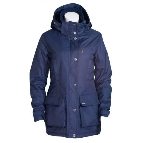 Toggi Ladies Ned waterproof Coat in Night Blue