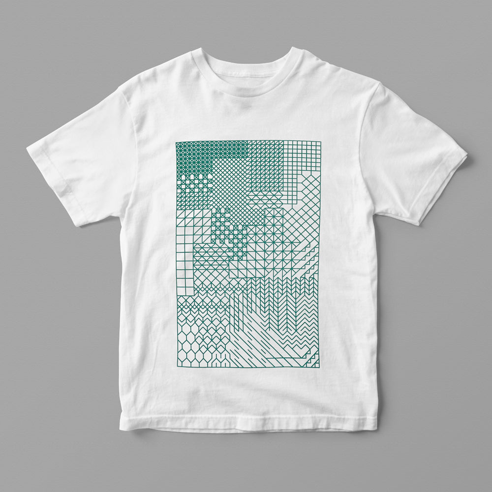 Studio Project: Evolution Pattern Recycled T-Shirt