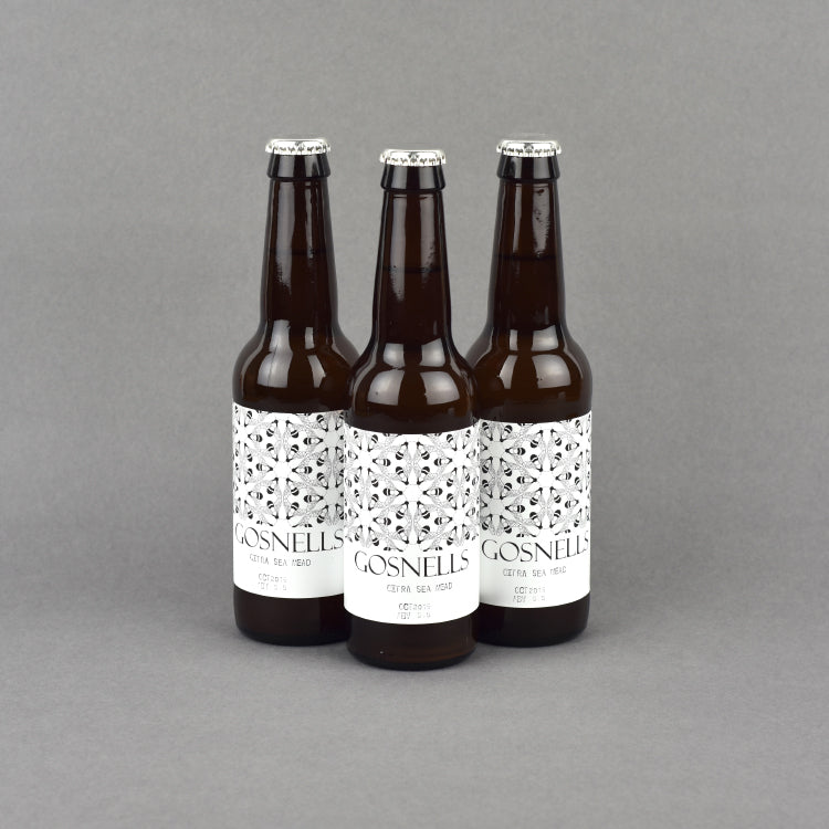 gosnells bottle label design the pattern guild