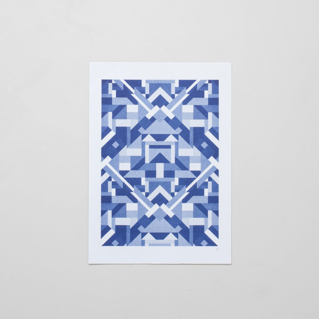 The Pattern Guild Collection 2013 puzzle riso print