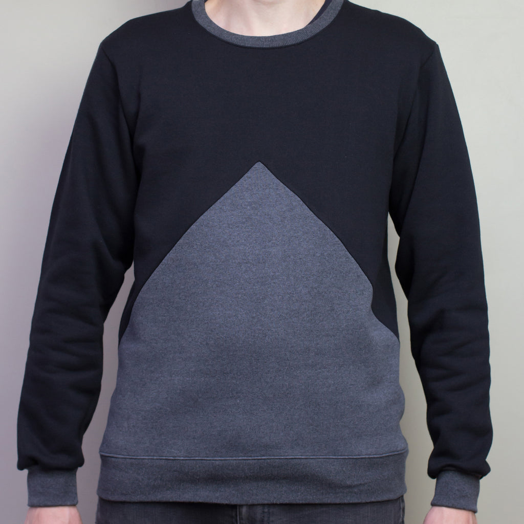 The Pattern Guild Collection 2013 trianlge panel sweatshirt