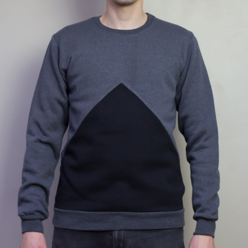 The Pattern Guild Collection 2013 triangle panel jumper