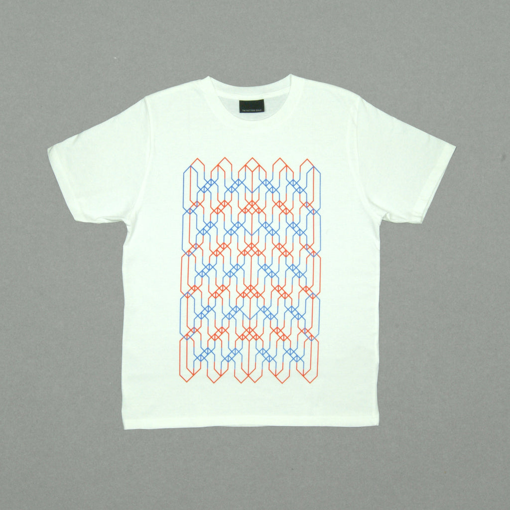 The Pattern Guild Collection 2014 tramlines t-shirt