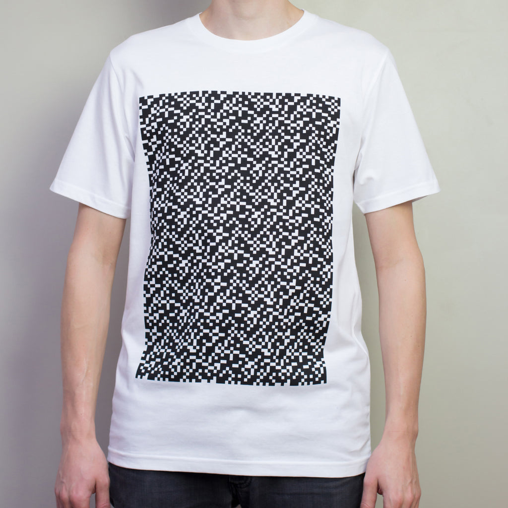 The Pattern Guild Collection 2013 glitch pattern t-shirt