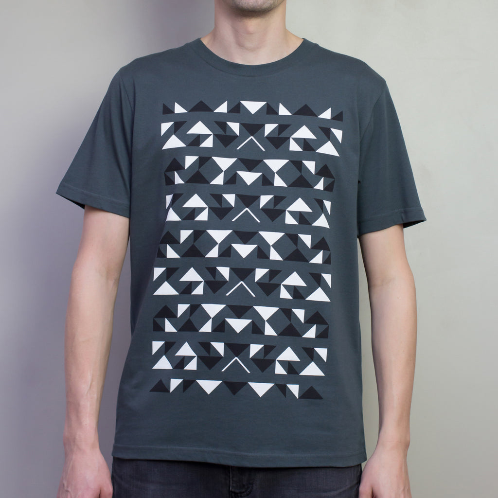 The Pattern Guild Collection 2013 triangles t-shirt