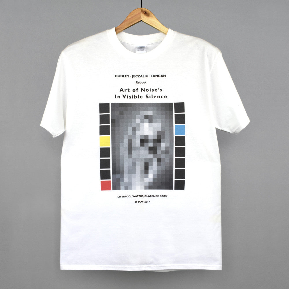 the pattern guild art of noise t-shirt white
