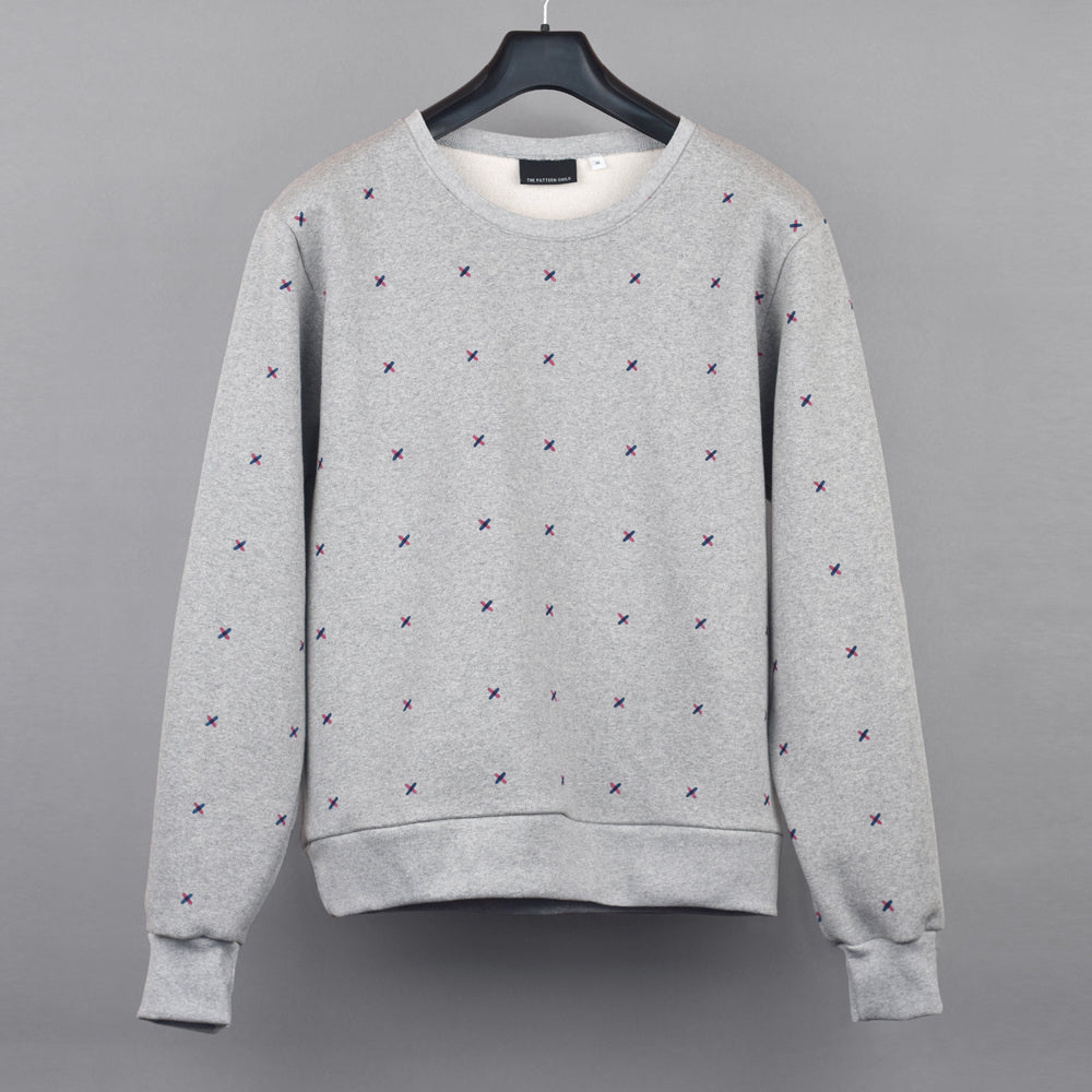 Stitch Pattern Sweatshirt