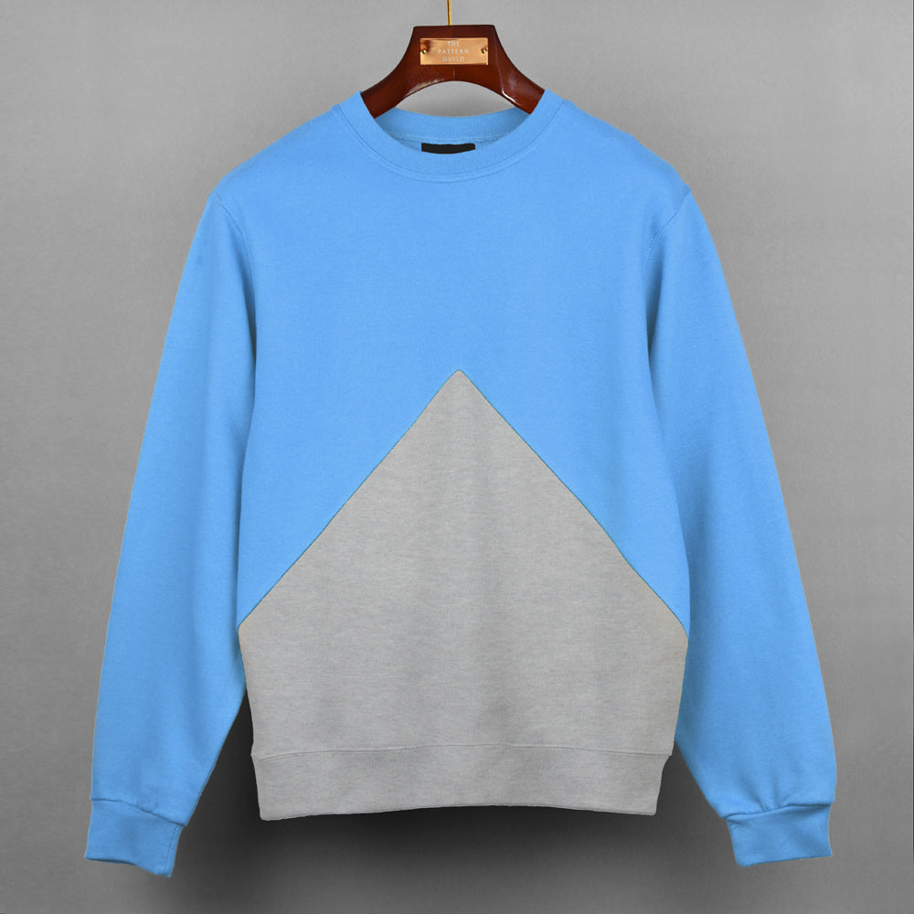 Custom Triangle Panel Sweatshirt