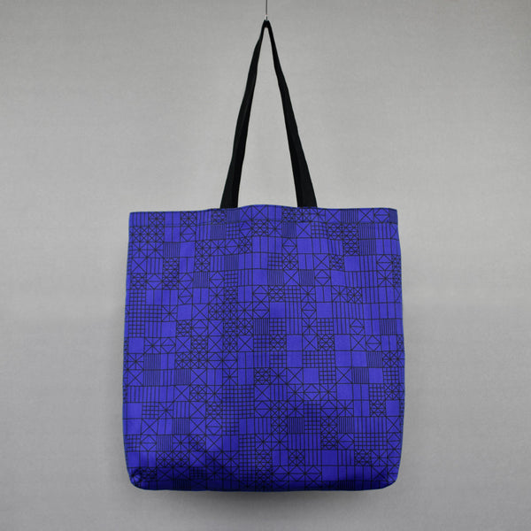 Large Pi Pattern Shopping Bag