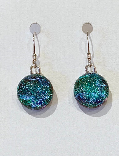Dichroic Glass Earrings 15