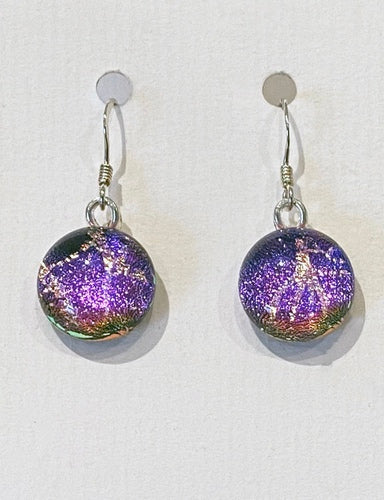 Dichroic Glass Earrings 18