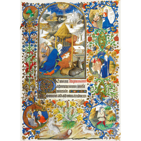 Manuscript Nativity( 6 cards)