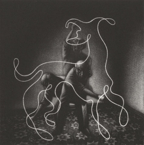 Picasso's Dog II (framed) 17/100