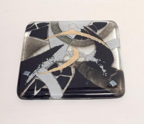 Abstract Coaster (Black)