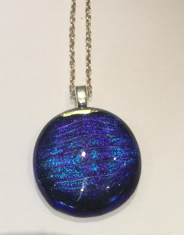 Electric Blue Pendant (small)