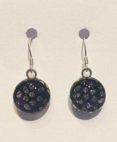 Dichroic Glass Earrings 16