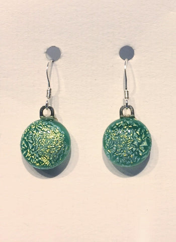 Dichroic Glass Earrings 19