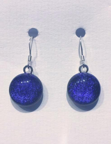 Dichroic Glass Earrings 20