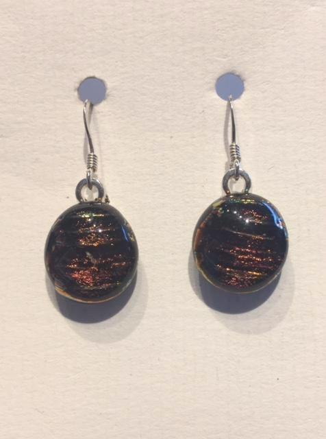 Dichroic Glass Earrings 24