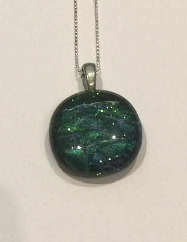 Green Lagoon Pendant (small)