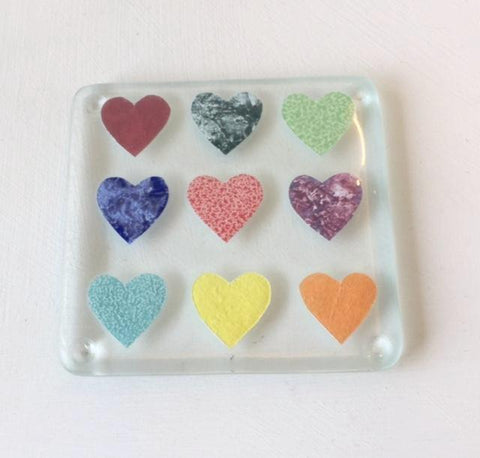 Hearts Coaster (multi)