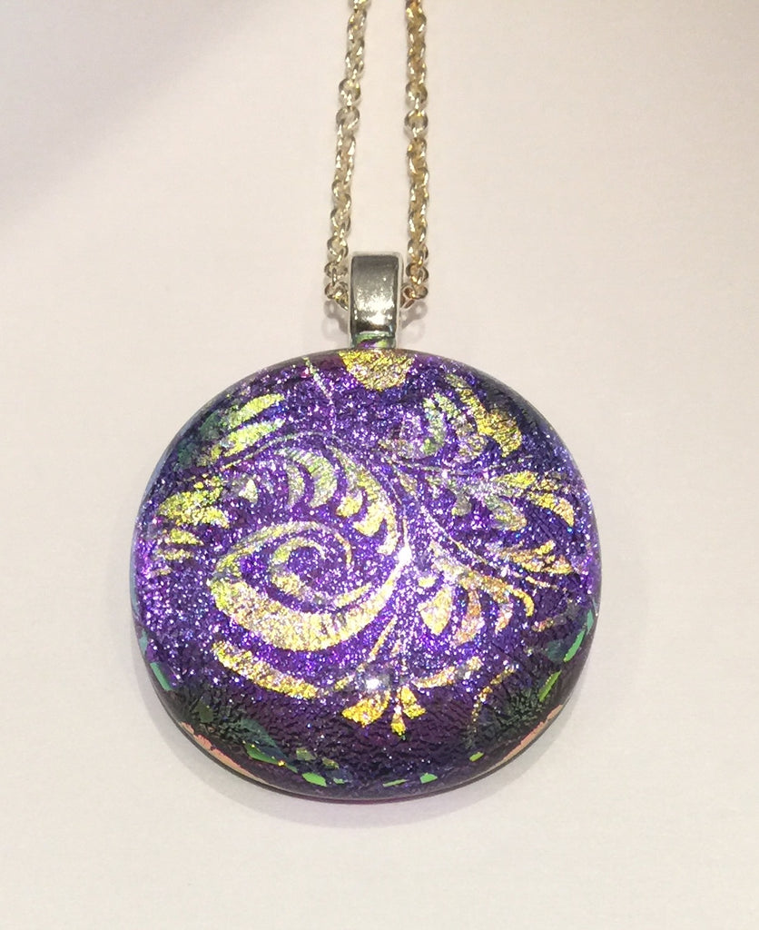 Purple Pendant (small)